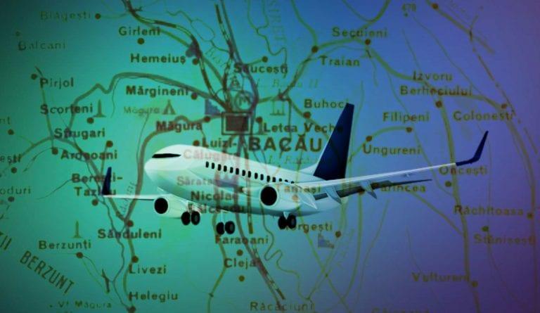 5 noi rute aeriene au fost anunțate la Bacău de la 1 octombrie
