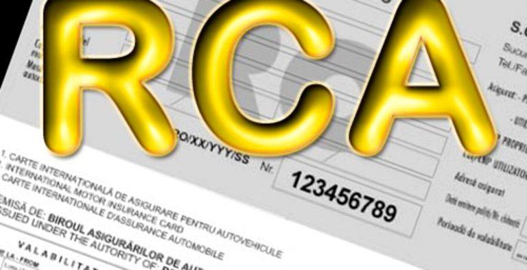 Asigurarea RCA valabilă și în format electronic