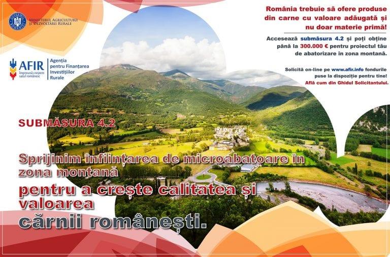Fonduri nerambursabile pentru abatorizare în zona montană