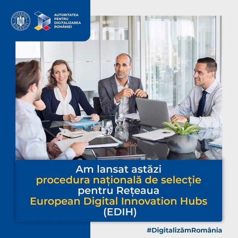 ADR lansează procedura națională de selecție pentru Rețeaua EDIH