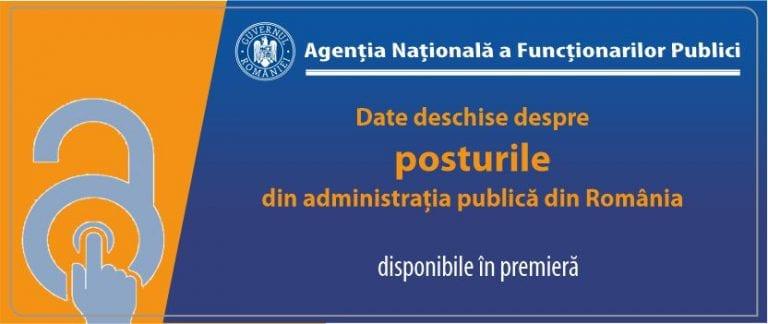 ANFP face publice informațiile care privesc funcțiile publice din administrația publică