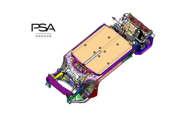 Grupul PSA prezintă noua platformă eVMP