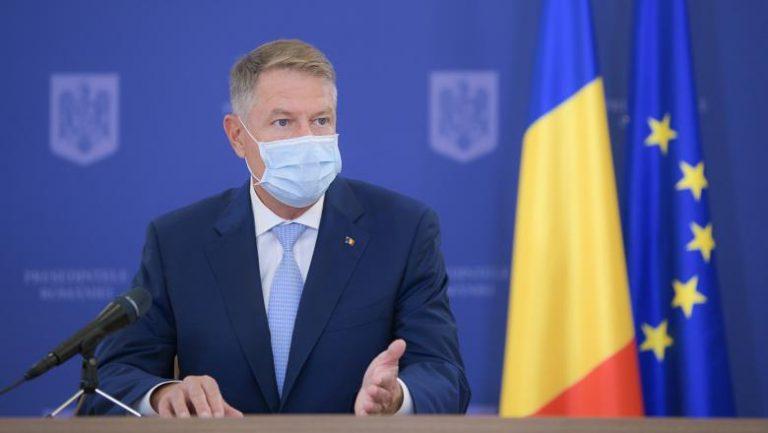 Klaus Iohannis: respectați regulile și nu îi expuneți pe oameni riscului infectării