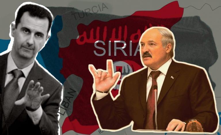 RAPORT: Assad îl felicită pe Lukașenko în ciuda faptului că Siria se adâncește din nou în război
