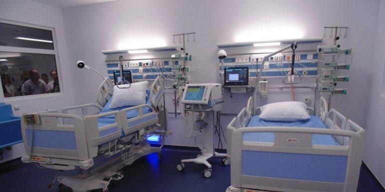 A crescut numărul de paturi ATI pentru pacienții COVID-19