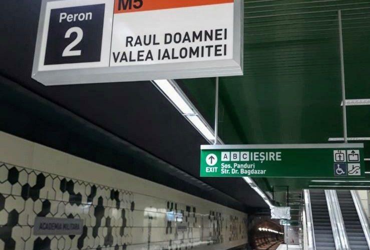 A fost deschisă Magistrala 5 de metrou