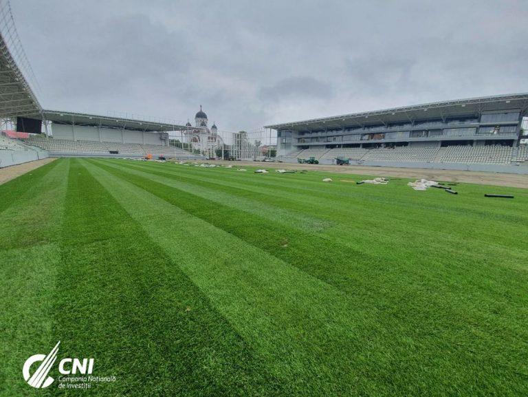 Stadionul Arcul de Triumf realizat 90%