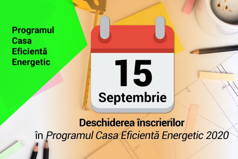 START Programul Casa Eficientă Energetic