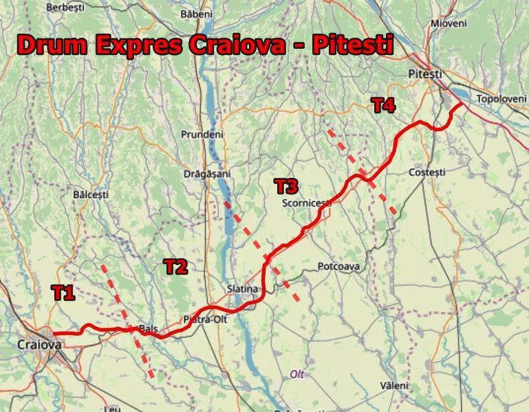 Au fost semnate contractele pentru Drumul Expres Craiova-Pitești
