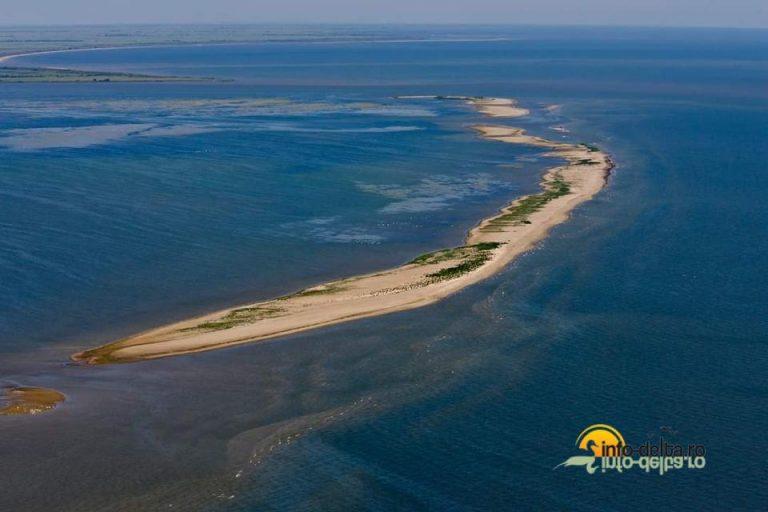 Insula K din rezervația Biosferei Delta Dunării