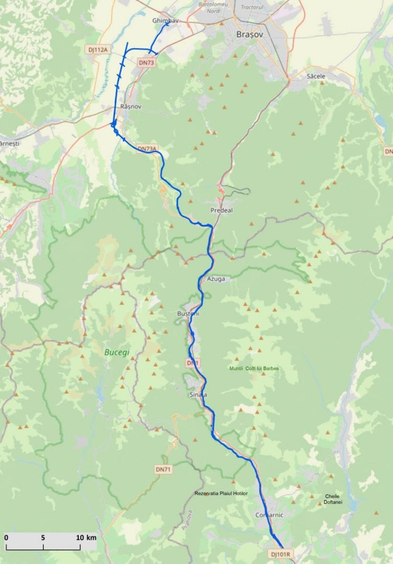Demararea procedurilor pentru Autostrada Comarnic – Brașov
