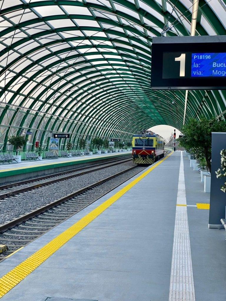 Trenuri între Gara de Nord București și Aeroportul Internațional Henri Coandă București