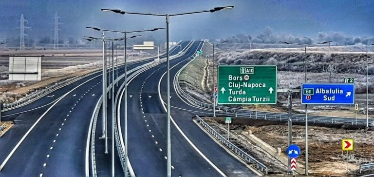 Se circulă pe Lotul 1 al autostrăzii Sebeș-Turda