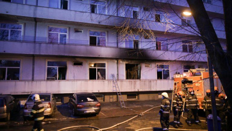 """Detaliile legate de incendiul de la """"Matei Balș"""""""