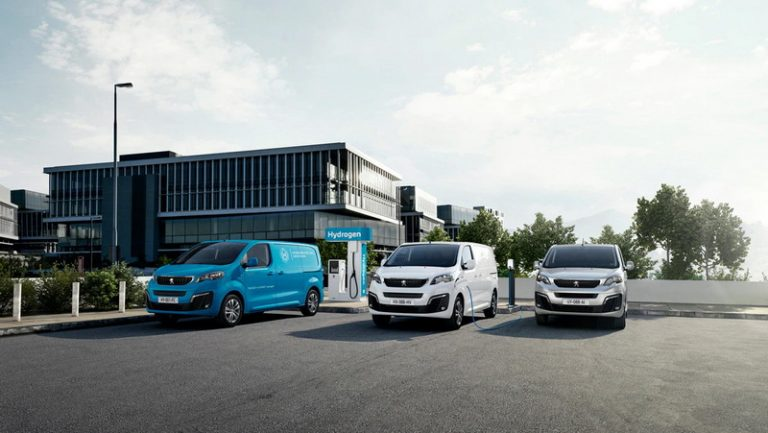 Noul Peugeot e-Expert Hydrogen