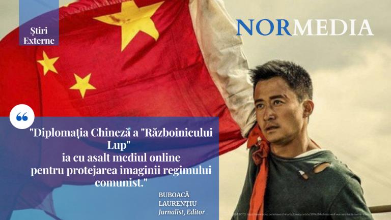 """Diplomația chineză a """"războinicului lup"""" ia cu asalt mediul online"""