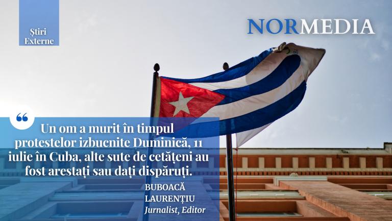 Proteste în Cuba! Un om a murit, iar alte sute au fost arestați