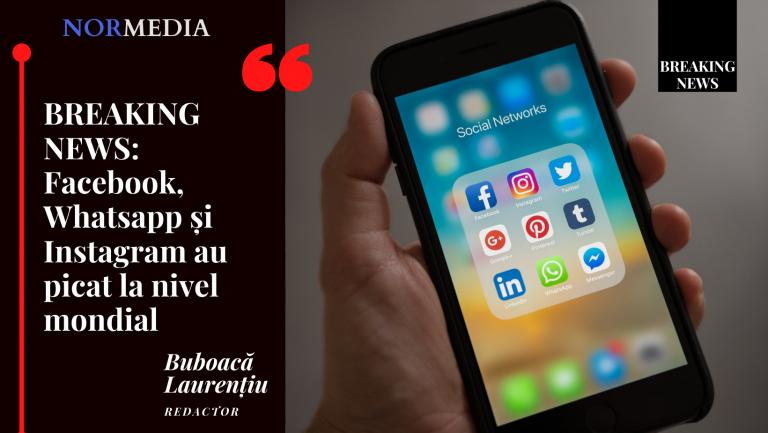 (LIVE UPDATE) BREAKING NEWS: Facebook, Whatsapp și Instagram au picat la nivel mondial